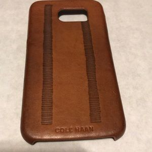 Cole Haan Leather iPhone case